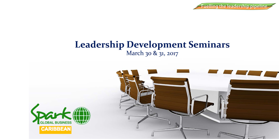 Leadership Development Seminars hosted by Spark Global Business