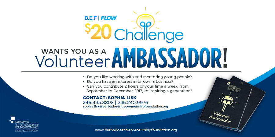 BEF Flow $20 Challenge Wants You as a Volunteer Ambassador!
